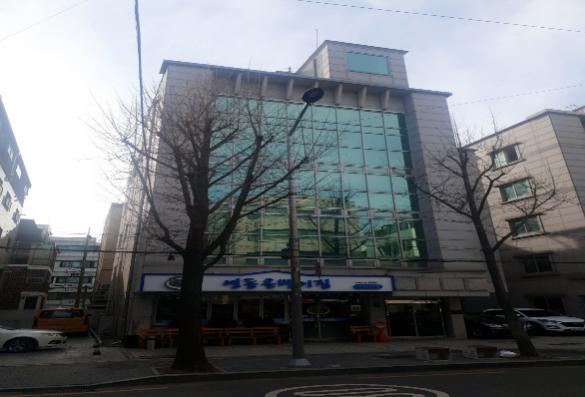 강남구 대로변 용적률 이득본 건물